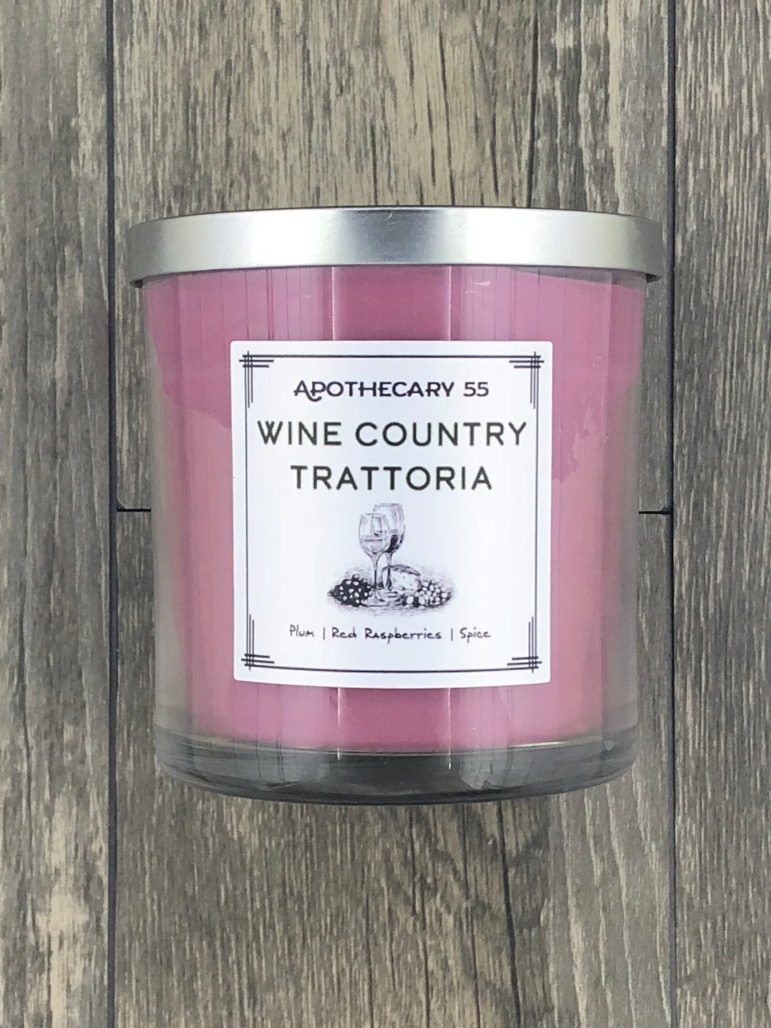 Wine Country Trattoria 9 oz. single wick candle