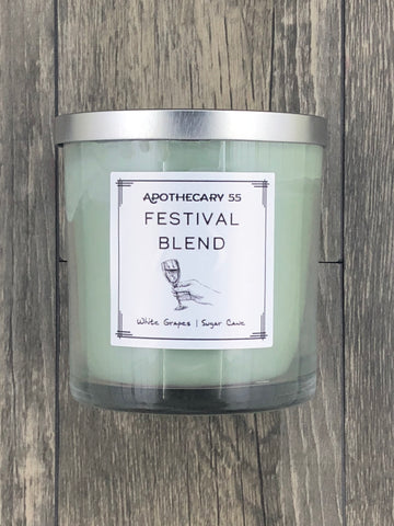 Festival Blend 9 oz. single wick candle