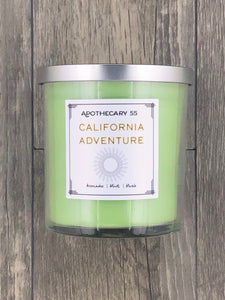 California Adventure 9 oz. single wick candle