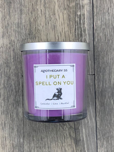 I Put a Spell on You 9 oz. single wick candle