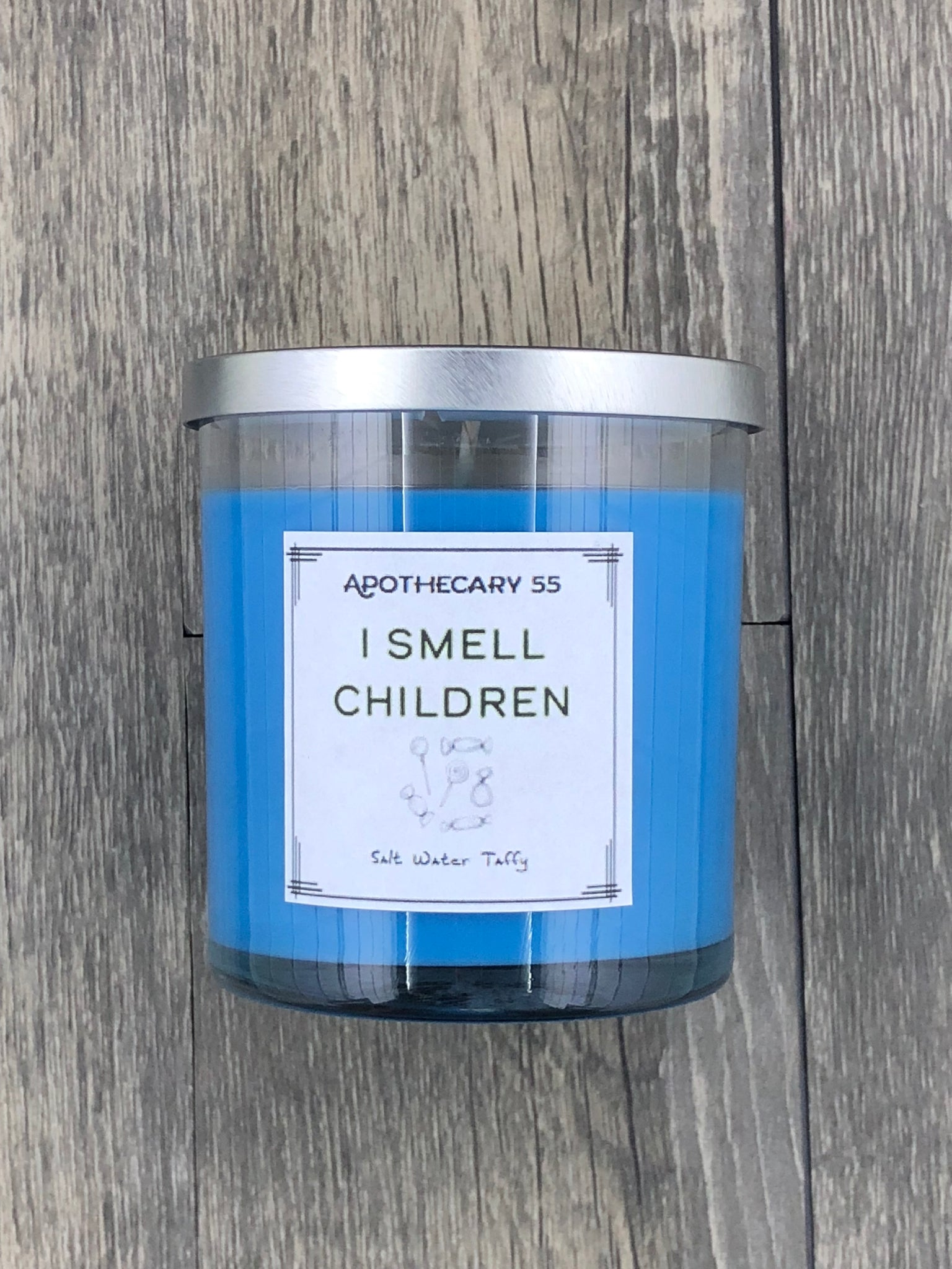 I Smell Children 9 oz. single wick candle