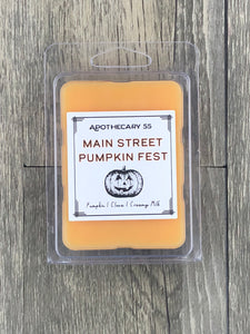 Main Street Pumpkin Fest wax melt