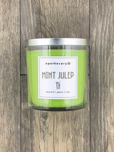 Mint Julep 9 oz. single wick candle
