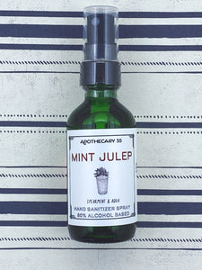 Mint Julep Hand Sanitizer Spray 2 oz.