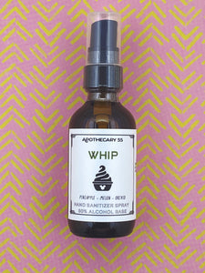 Whip Hand Sanitizer Spray 2 oz.