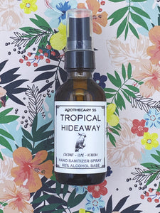 Tropical Hideaway Hand Sanitizer Spray 2 oz.
