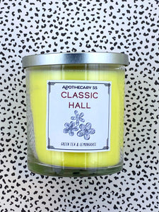 Classic Hall 9 oz. single wick candle