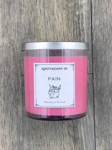 Pain 9 oz. single wick candle