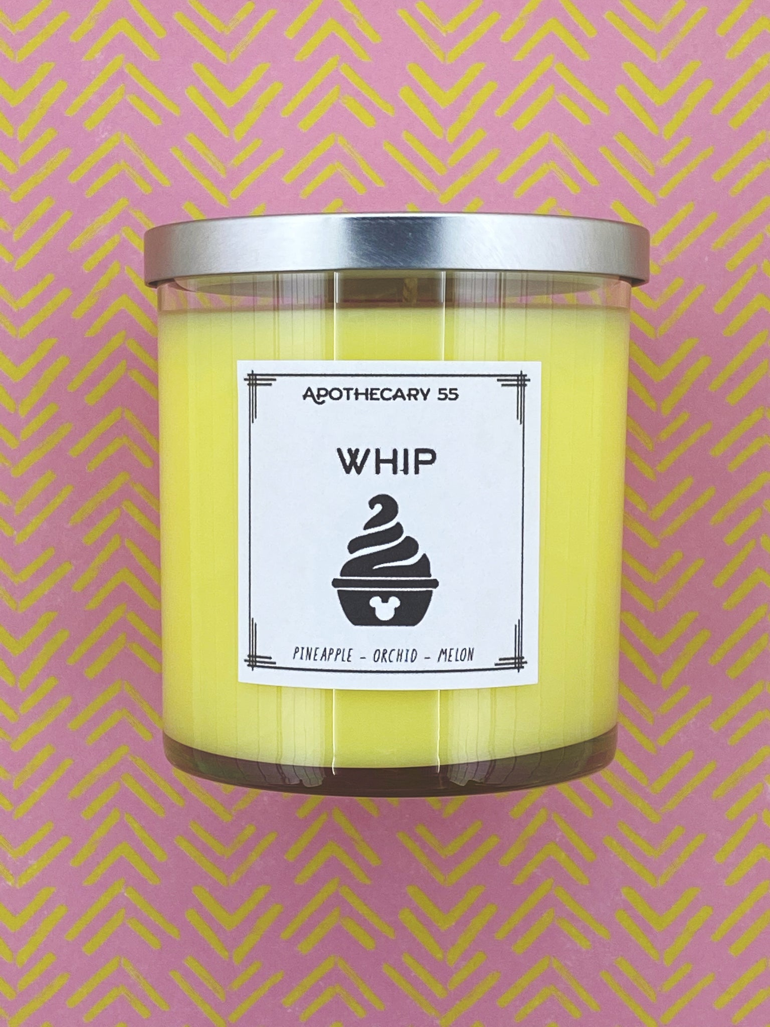 Whip 9 oz. single wick candle