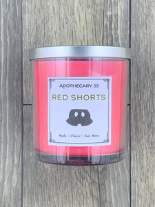 Red Shorts 9 oz. wicked candle
