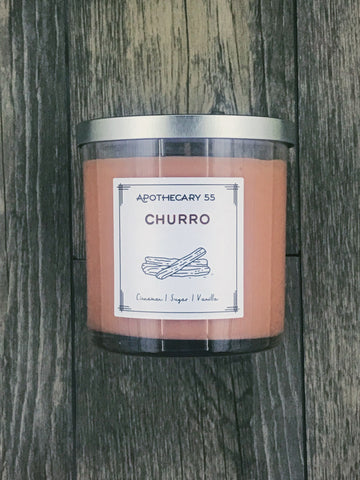 Churro 9 oz. single wick candle