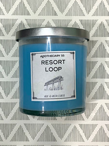 Resort Loop 9 oz. single wick candle