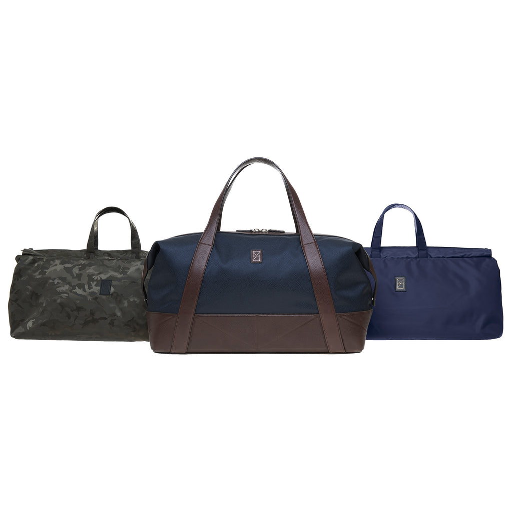 Travel & Business & Fitness<br>navy/brown<br>large