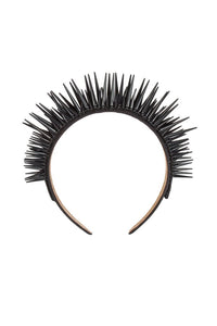 BLACK SPIKED CROWN