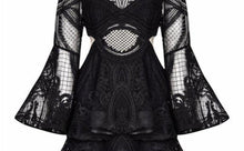 | CHAMELEON MINI DRESS BLACK