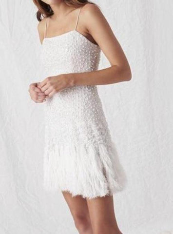 PELLINA FEATHER DRESS