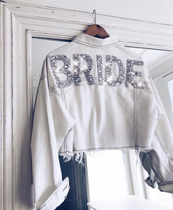 BRIDE CROP JACKET