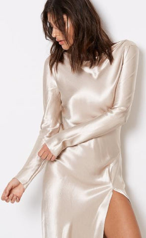 KAIA LONG SLEEVE DRESS