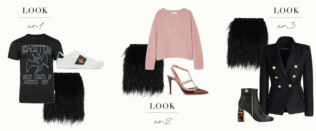 How To Wear An Ostrich Feather Skirt