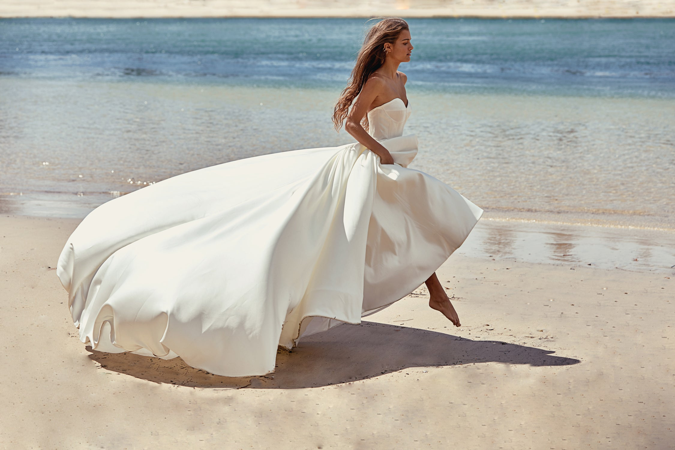 Capri Bridal Gown - Mode & Affaire