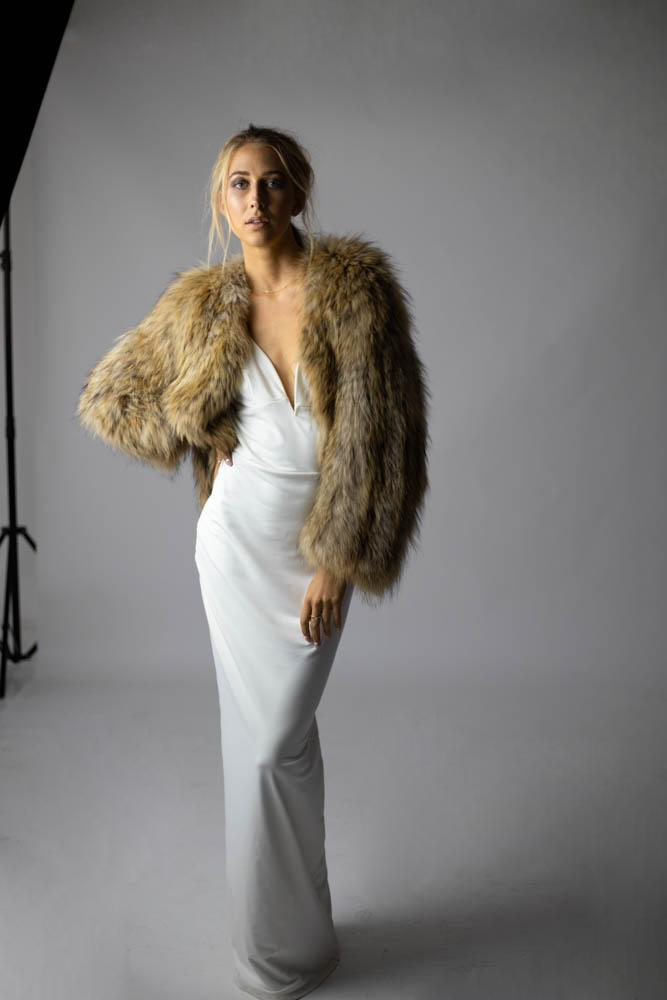 Exotique Winter Jacket in Natural - Mode & Affaire