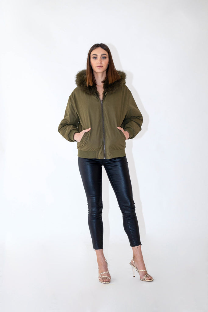 Artillery Reversible Bomber in Army - Mode & Affaire