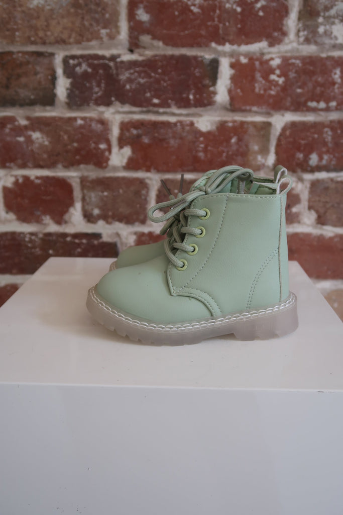 Kids Festival Boot in Mint - Mode & Affaire