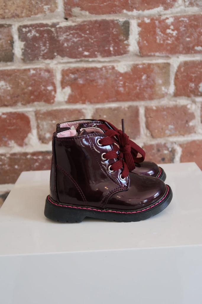 Kids Festival Boot in Mulberry - Mode & Affaire