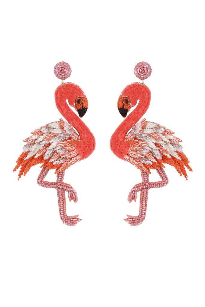 Flamingo Earring - Mode & Affaire