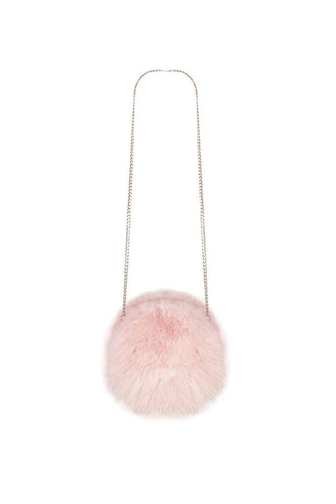 Fluffy Circle Bag in Ballet - Mode & Affaire