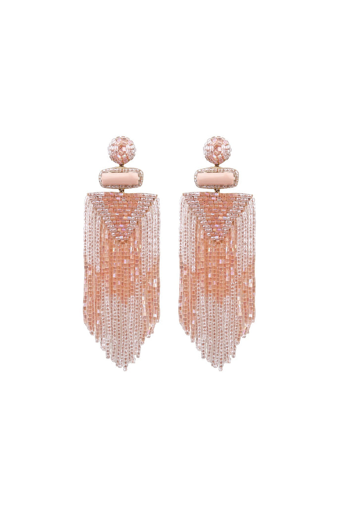 Jody Earring Peach - Mode & Affaire