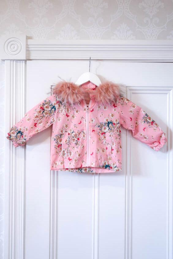 Kids Spray Jacket in Fairy Floss - Mode & Affaire