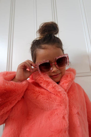 Kids Pool Party Sunglasses in Pink - Mode & Affaire