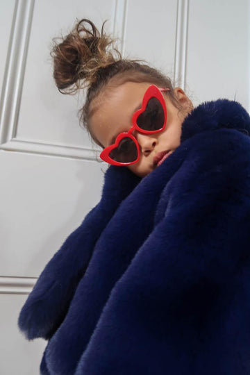 Kids Sunglasses Red Heart - Mode & Affaire