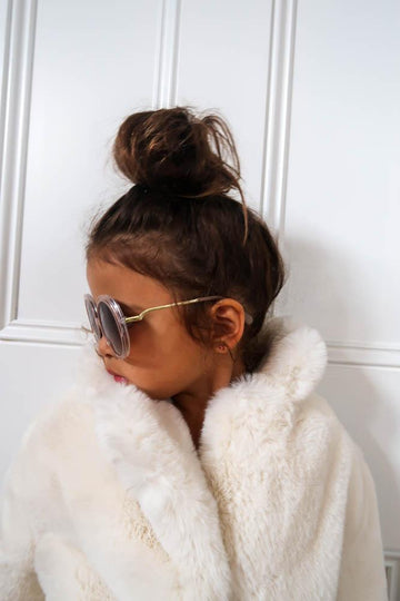 Kids Goldie Sunglasses in Blush - Mode & Affaire