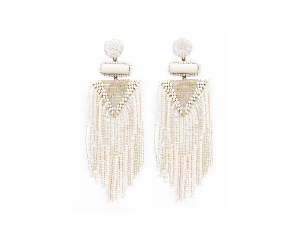Jody Earring Ivory - Mode & Affaire