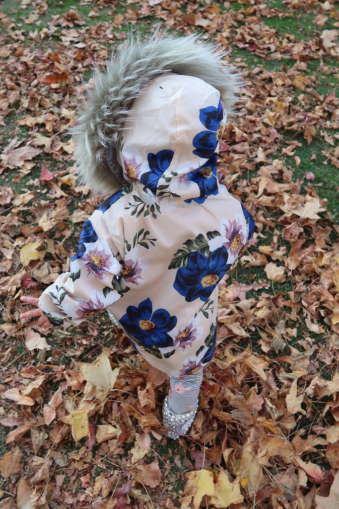 Kids Spray Jacket in Bluebelle - Mode & Affaire