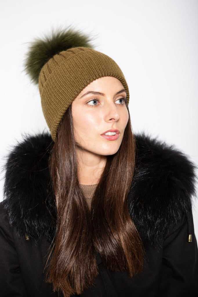Angora Beanie Olea - Mode & Affaire