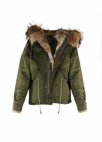 sale retailer b739b 41983 The Daily Parka With Fur Hood