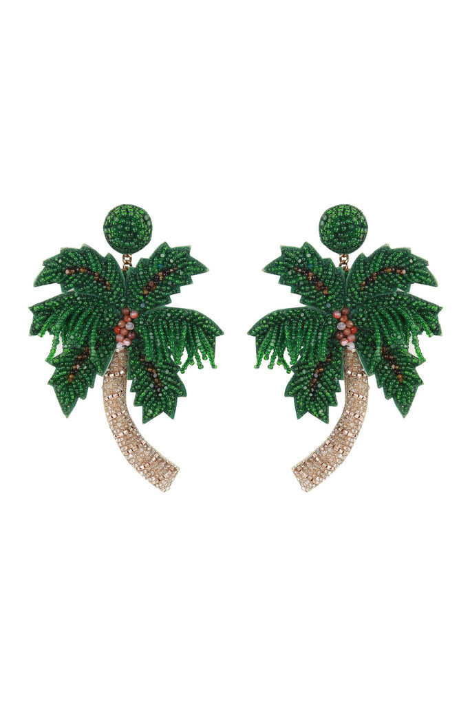 Palm Tree Earring - Mode & Affaire