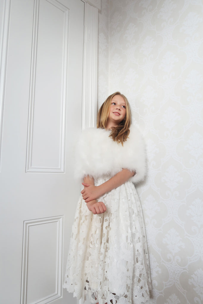 Kids Plume Jacket in Snow - Mode & Affaire