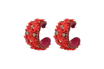 Raquel Earring Red