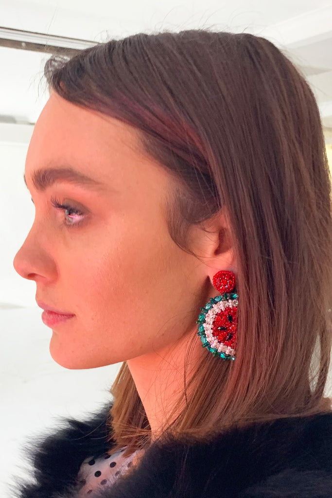 Watermelon Earring - Mode & Affaire
