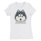 Pomskyhood Logo Women's Slim Fit T-Shirt