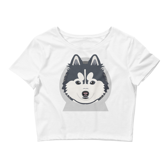 Pomskyhood Logo Women's Crop Tee