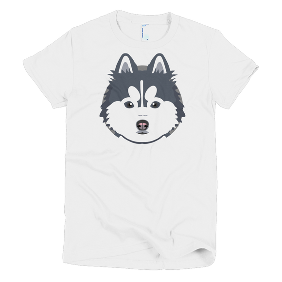 Pomskyhood Logo Short Sleeve Women's T-shirt