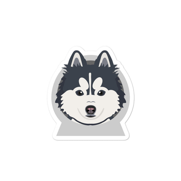 Pomsky Sticker