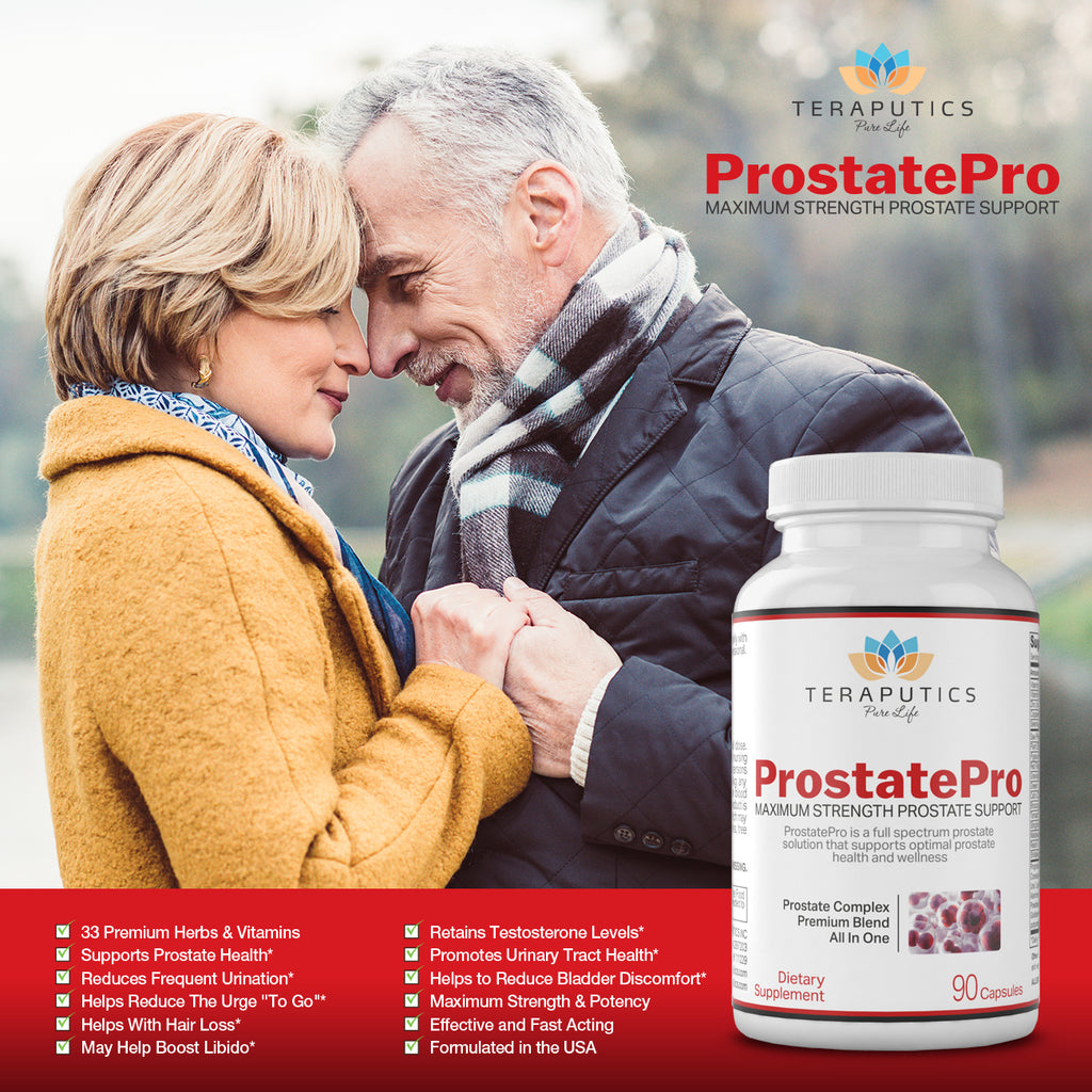ProstatePro - 33 Premium Ingredients - 930mg, 45 servings