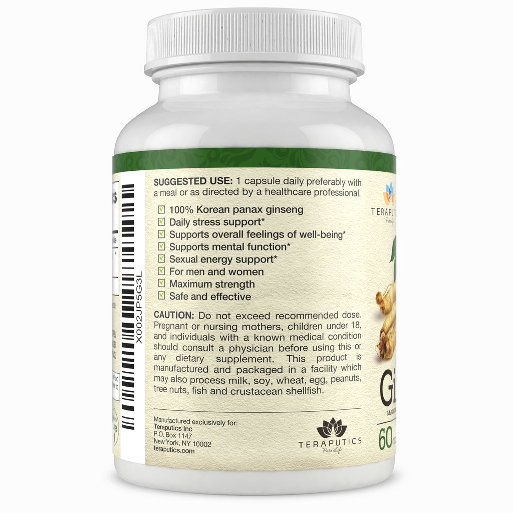 Korean Panax Ginseng (Only $5 on Amazon)