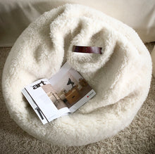 Wool Bean Bag - Coloured Short Curly